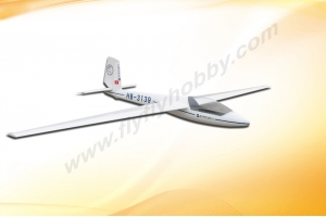 Flyfly Hobby FF-B029 HB-3139 Glider (100 inch) Polyeste Swift S-1 Electric with Brake