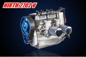 Belt reduction drive FOR  HIRTH 2702 V air-cooled two-cylinder inline engine (Global Warehouse)