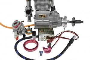 Saito FA 220, Full Gasoline CH Ignitions CDI Conversion (Global Warehouse)