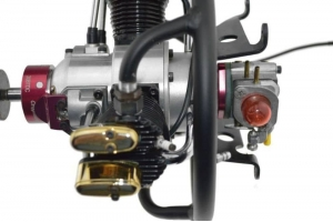 Saito FA200 3-Cylinder Radial SAIE200R3, Full Gasoline Conversion (Global Warehouse)