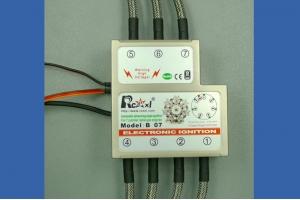 RCEXL  7 cylinder RADIAL ENGINE  ignition for -NGK- ME-8 1/4 -32   CM-6--10MM (Global Warehouse)