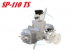 SKY POWER SP-110cc (3W Intl) UAV Engine TS OR TS ROS Versions (Global Warehouse)
