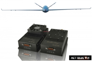 15-200 KM Long Range Transceiver 2.4GHz Wide band (Telemetry with Videolink & Datalink) 3 in 1 for Industrial Class Drone UAV UAS
