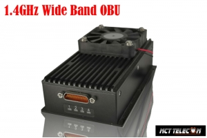 15-200 KM Long Range 1.4GHz Wide band OBU (On Board Unit) RX for Industrial/Military Class Drone All in One Datalink