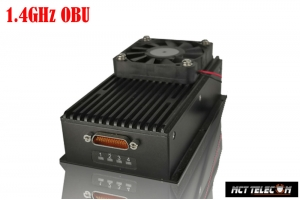 15-200 KM Long Range 1.4GHz band OBU (On Board Unit) RX for Industrial/Military Class Drone All in One Datalink