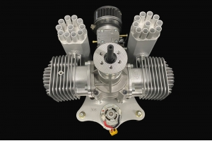 UFP 170cc CCW rotation W/Autostarter/Air Filter/Extra Muffer for Multiroter or Fixed Wing, Paraglider (AUS Warehouse)