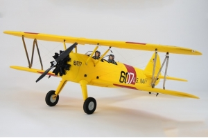 Dynam PT-17 Yellow/Blue 1300mm Wingspan - SRTF(W/GAVIN-6C TX)