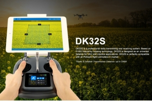 FPV UAV Ground Station DK32S Smart controller integrated video link,data link,Radio link