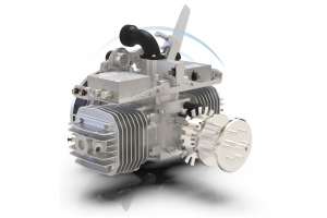 SKY POWER SP-210cc (3W Intl) TS/ROS UAV Engine FI(EFI) or Heavy Fuel (HF) w/Generator Versions