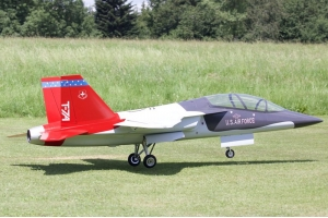 JMB 2124mm XXL Boeing T7A Composite PNP Red/Gray