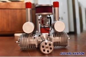 DA150cc (Desert Aircraft) EFI UAV Engine for Fixed-Wing Drone & Alternator 24V/100W ROS Version (Global Warehouse)