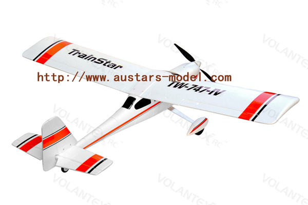 Volantex Trainstar Plastic Unibody durable trainer 2.4G Brushless RTF(747-4) (Global Warehouse)