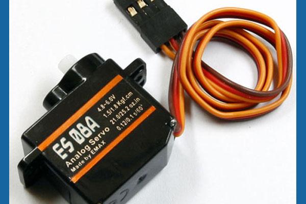 EMAX 8g High Sensitive Mini Servo Type ES08A (Global Warehouse)