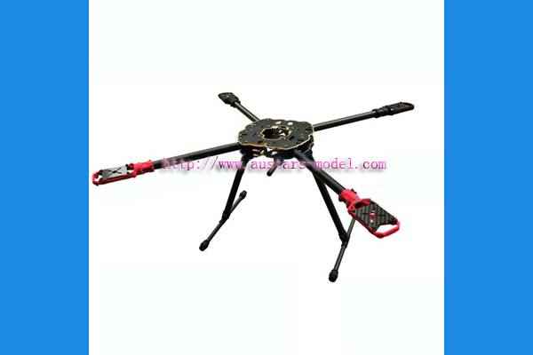 HMF F650 650mm Folding 4 Axis CF Quadcopter Frame Kit (Global Warehouse)