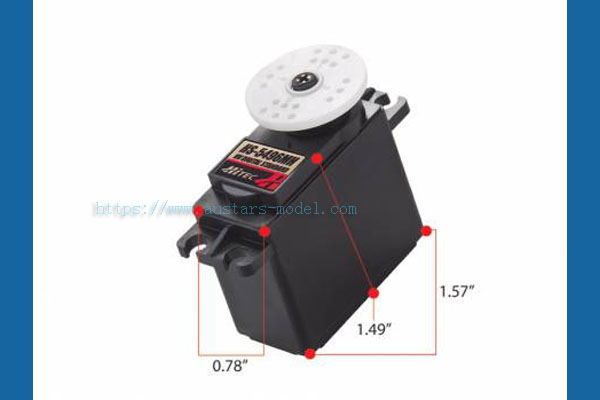 HITEC HS-5496MH HV Standard Metal Gear Digital Sport Servo (Global Warehouse)