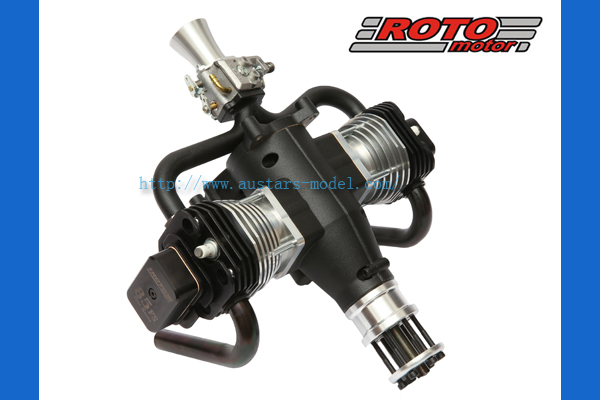 ROTO 85 FS-NG - two cylinder four stroke gasoline RC airplane engine