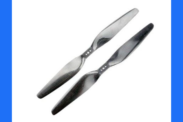 16x 5.5 Carbon Fiber Propeller Set CW/CCW - Direct mounting 1655-T (Global Warehouse)