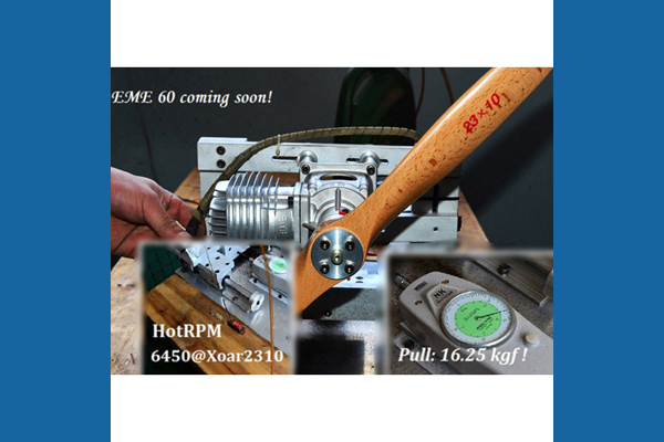 EME 60 cc Gasoline Engine (Global Warehouse)