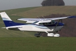 120 INCH COMPOSITE CESSNA-182 2019 Version  w/Roto Motor 85cc FS engine & GST (Global Warehouse)