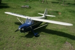 GREEN RC 108 INCH STINSON VOYAGER 108 Combo with KCS 62CC Petrol Engine (AUS Warehouse)