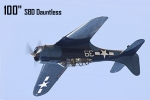 "CYModel 100"" SBD Dauntless 2020 Version for ROB PRE ORDER W/JP"