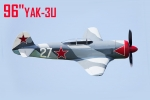 "CYModel 96"" Russian Yak-3U w/electric retracts GST Inc (No.33/color scheme)"