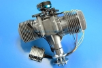 DLE 170CC TWIN UAV ENGINE With 14V 180W (New Version) Generator GST Inc (AUS Warehouse)