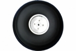 3.5 inch PU Wheel for RC Airplane H34mm with 5mm CNC Aluminium Hub (Global Warehouse)