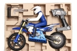 SKYRC 1:4 Scale RC Dirt Bike in Blue/Green/Red (Global Warehouse)