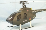 MD530 Scale Helicopter Frame (500 Size EP Heli/JR Super Voyager or TREX 500) (Global Warehouse)
