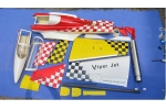 RC  world Viper Jet  for 10KG turbine (2 color schemes) (Global Warehouse)