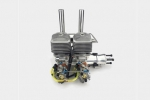 DLA 64cc UAV  ENGINE (IN- LINE) (Optional one key start-auto starter/generator) (Global Warehouse)
