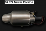 80 Kg Thrust Turbine Engine for Target Drone UAV UAS (Contact us for pricing) (Global Warehouse)