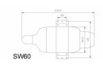 Swiwin SW60B brushless pump Turbine Engine ,6kg engine (Global Warehouse)