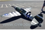 CYModel 96 inch P47B Razorback w/electric retracts GST Inc New stock for Pre order only