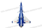 HSD Aviation 75mmJ1075 hanyu j-18 coating Equipped with shock absorber landing gear 6SPNP (Global Warehouse)