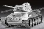 30% Deposit of Warslug Russian Metal Tank  T34/85 Aluminum-AlloyTracks StaticVersion Pre Order pricing/discount (Global Warehouse)