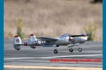 FlightLine RC P-38L Lightning Pacific Silver 1600mm (63 inch) Wingspan - PNP RC Airplane (Global Warehouse)