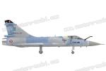 HSD JETS 1225mm Mirage 2000 Foam Turbine Blue Camo (Global Warehouse)