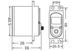 JX PDI-HV7207MG 7KG High Precision Metal Gear Full CNC Aluminium Shell Structure high voltage Digita (MOQ 4 pcs free Air shipping) (Global Warehouse)