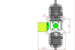 DLA  232cc Aircraft Engine (Global Warehouse)