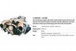 LIMBACH L-2400 DX ENGINE 118KW UAV Engine  Core Engine W/Autostarter/Alternator (Global Warehouse)