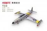HSD T-33 Foam Jet Shooting Star Turbine version in two color schemes PNP GST Inc (AUS Warehouse)
