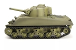 Heng Long 3898-1 2.4G 1/16 US Sherman M4A3 Tank Radio Control Battle Tank (Global Warehouse)