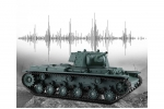 Heng Long 3878-1 1/16 Scale 2.4GHz Frequency Remote Control Simulation Model KV-1 High simulation of real tank model toy for kid (Global Warehouse)