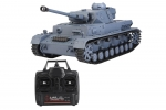 Heng Long 3859-1 tank 2.4GHz 1/16 Scale PANZER-IV F2 High simulated Model RC Tank anti-impact durable toy for children gifts (Global Warehouse)