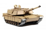Heng Long 6.0 Version 3918-1 1/16 2.4G M1A2 Rc Car Battle Tank Metal Track (Global Warehouse)