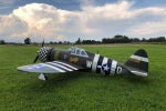 "CYModel 81"" P-47 Razorback w/electric retracts GST Inc"