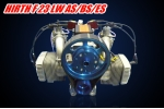 Belt reduction drive For HIRTH F-23 2 cycle 50hp air-cooled two-cylinder boxer engine