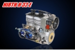HIRTH H 32 E air-cooled two-cylinder inline engine